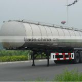 3 axle chemical tank trailer for hydrochloric acid storage tanker chemical fuel tank semi-trailer