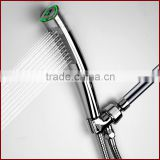 Hydro-power LED Hand Shower bathroom shower head with Colorful lights and HealthTemperature Display Shower Head