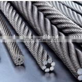 3mm-5mm galvanized steel wire rope