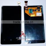 Replacement lcd for Nokia Lumia 800 lcd+touch with frame assembly for nokia lumia 800 lcd display for lumia 800 touch screen