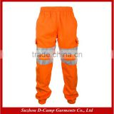 HVP007 High Visibility Fleece 100% Polyester Sweat Pants Jogger