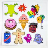 Wholesale child drawing board intereting child funny magnetic game 3d paper puzzle