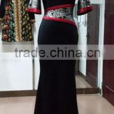Muslim dress Arab dubai islamic Party dress abaya contour dress jalabiya wear Facory OEM Servise