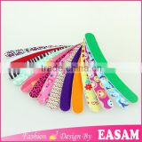 Colorful printing banana nail file,Personalized Novelty banana nail file