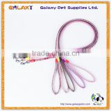 The whole network lowest reflective pet dog collar chain leash, dog leash harness belt sizes Specials