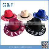 The Latest Fashion Felt Fedora Hat Ladies Felt Hillbilly Hat