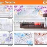 Hot sale 3d floor wallpaper for wholesales