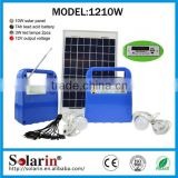Multifunction panel super quality complete off grid 15w solar system                                                                         Quality Choice