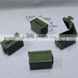 Green Ammobox Container Geocaching Metal Promotion Hidden Secrect Case Box Pill Hidden Box