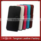 5 Colors Leather Cars Slot Wallet Case Cover Pouch For Huawei Ascend G7