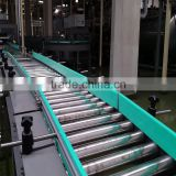 electric unloading roller conveyor for products transfer