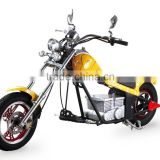48V 500W electric mini chopper motorcycle