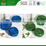 Wholesale alibaba china oem brand 50g Automatic Toilet Bowl Cleaners/Toilet blue block
