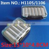 H1105 H1106 Two Style Carp Fishing Box Bait Box plastic fly hook box