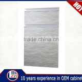 Customized new arrival laminate scratch resistant acrylic kitchen cabinet door with high quality