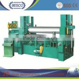 W12 cnc roller bending machine , 4 roller bending machine , roll forming machine manufacturers