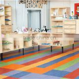colorful linoleum in roll