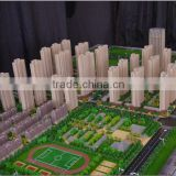 3D Maquette Apartment house building scale model making