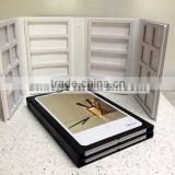 tsianfan plastic detachable quartz stone samples catalogue/stone tile display sample catalogue PY053-2
