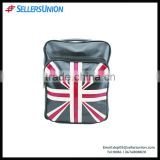 Best selling England flag printing Korean style PU backpack, fashion young travel sport lavish bag