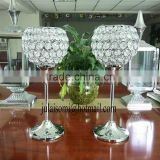 hot sales fashion wedding crystal candle holder,crystal votive candle holder , crystal wedding ball