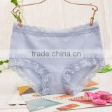 wholesale private label lingerie pure color nylon panties lady care panties