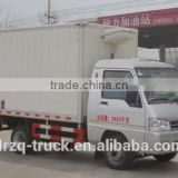 Euro 4 standard refrigerator car size of box 3000*1500*1650