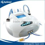 2 in 1 diamond and crystal Microdermabrasion for facial skin care beauty machine from APolomed