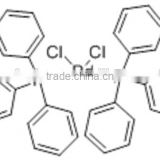 Bis(triphenylphosphine)palladium(II) chloride,CAS NO.13965-03-2,15.16% Pd,Noble Metal Catalyst