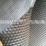 professional Rubber Tralier Mat Product Small Square Square Hexagon Cow Mat Used in Farms