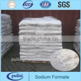 PLS leather used good quality sodium formate 95% 98%