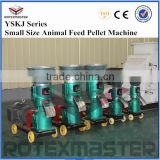 INquiry about Small Flat Die Animal Feed Pellet Machine Supplied To UAE Customer