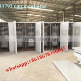 Agriculture equipments Fully automatic the egg incubator MJ-33792 30000 pcs chicken egg incubator with automatic egg turner