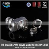 Flat fan Air Atomizing Nozzles, Siphon Air Water Spray Nozzle