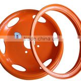 agricultural equipment car wheel specifications of wheel rim 5.50F*20
