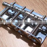 chrome plated steel electric guitar bridge, acoustic guitar bridge, guitar bridge