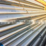 BS1387&ASTM A53 ERW round hot dip galvanized steel pipe with high quality/fluid pipe