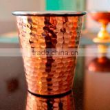 Hammered Copper Pot Hammered Julep cup Hammered Copper Glass Copper Tumbler Solid Copper Mint Julep Cup Hammered cups