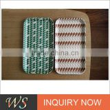 Eco-friendly Bamboo Fiber Nordic Style Lunch Tray