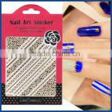 Nail stick act the role ofing is tasted Nail stickers Three-dimensional decals Imitation of dry flower nail stick 3 d environmen