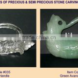 Precious and Semi Precious Stone Carving Statue Figure Sculpture-Y