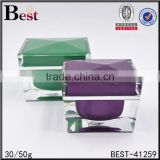 30g 50g luxury acrylic jar for beauty product personal care cream jar for beauty product