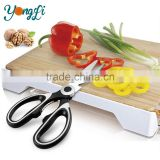 Multipurpose Stainless Steel 6 in 1 Kitchen Cutter Knife Scissor