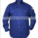 fire resistant button-down safety pink work shirt SLS080
