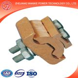 two bolt copper clamp parallel groove clamp
