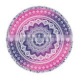 alson drop shipping Sunshine Bath Hiking Camping Picnic Home Window DaySeventh Round Hippie Tapestry Beach Throw Roundie Mandala