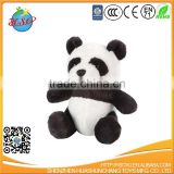 "8"" Medium Cartoon Cuddle Softer Stuffed Plush Bamboo Panda Bear Animal Toy for Kids"
