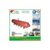 Water Heat Boiler Mud Drum Anti Wind Single Type , Mud Drum In Boiler