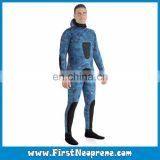 Import Top Quality Yamamoto Neoprene CR Sea Blue Camo Hunter Spearfishing Wetsuits