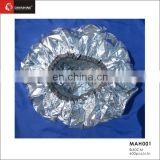 hair salon tinfoil cap disposable cap for barber hair design hair cut